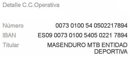 cuenta-masenduro